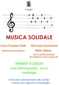 MUSICA SOLIDALE CON DATA1