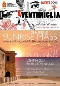 sunrise verticale