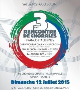 Afiiche Concert Rencontre chorales franco italiennes juillet 2015-00