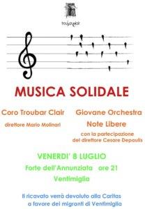 MUSICA SOLIDALE CON DATA1